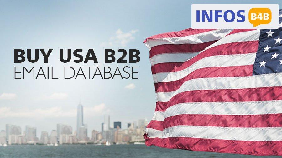 Buy USA B2B Email Database