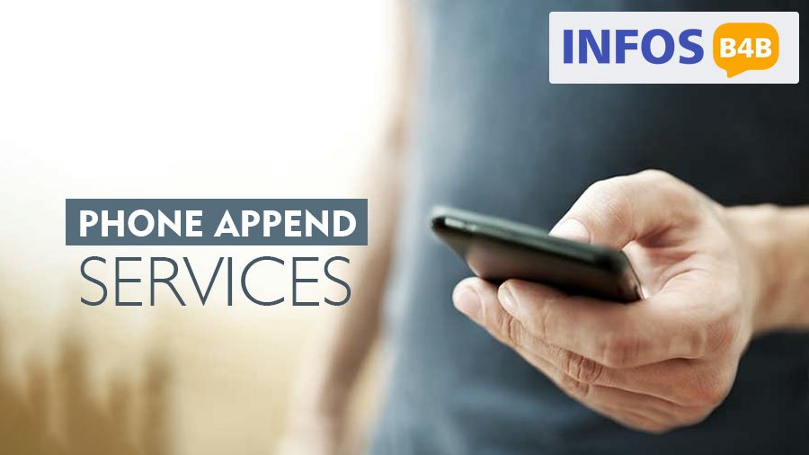 Phone Append Services