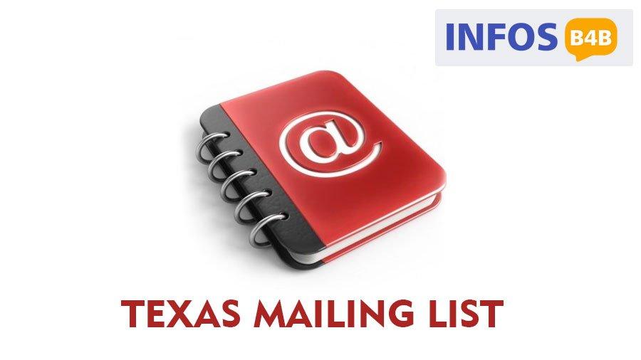 Texas Mailing List