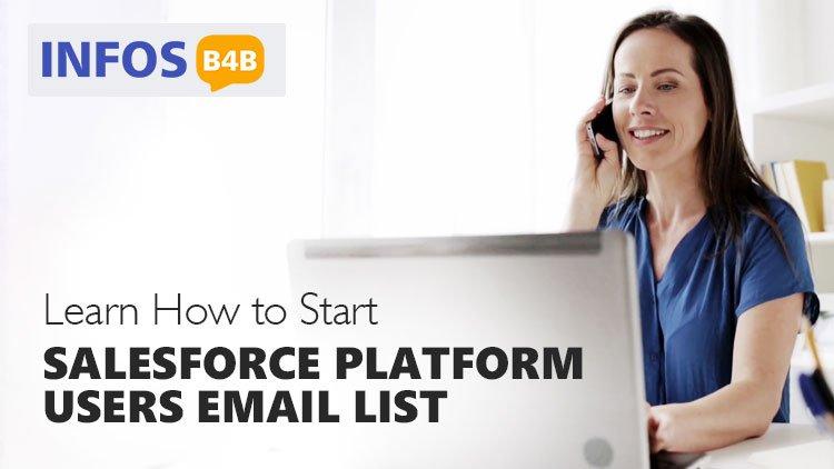 Salesforce Platform Users Email List